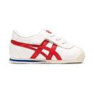 OT鬼塚虎-TIGER CORSAIR TS 休閒童鞋 (白底紅邊)