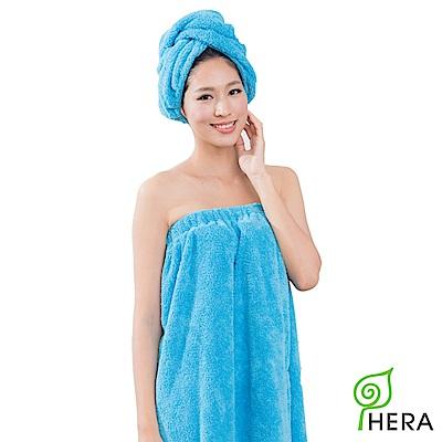 HERA 3M專利瞬吸快乾抗菌超柔纖浴裙-皇家藍