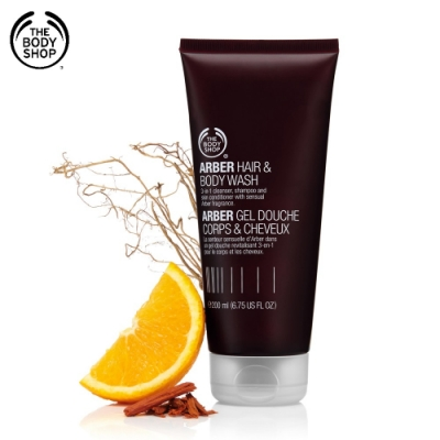 The Body Shop ARBER身體&頭髮清潔露-200ML