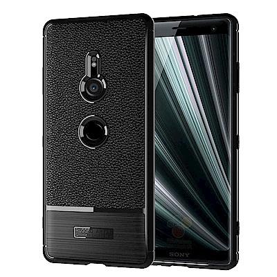 IN7 荔枝紋系列 SONY Xperia XZ3 (6吋) 硅膠手機保護殼