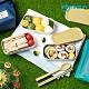 【韓國sillymann】 100%鉑金矽膠餐盒三件組+兒童餐具套裝組(附防塵盒)-粉/綠 product thumbnail 1