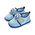 迪士尼 米奇 星星造型 電燈嗶嗶鞋-藍