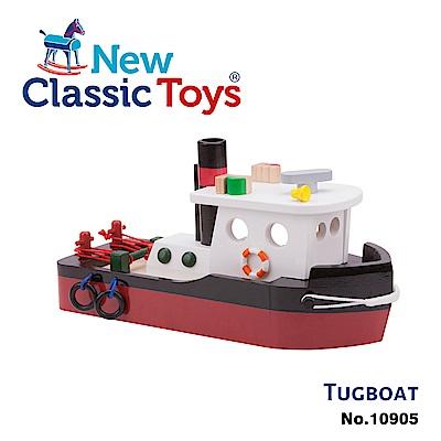 荷蘭New Classic Toys 貨櫃系列-貨櫃拖船玩具 - 10905
