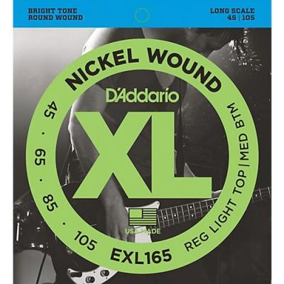 DAddario EXL165 45-105貝斯四弦套弦
