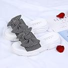KEITH-WILL時尚鞋館 好感印象舒活特質厚底涼鞋 黑