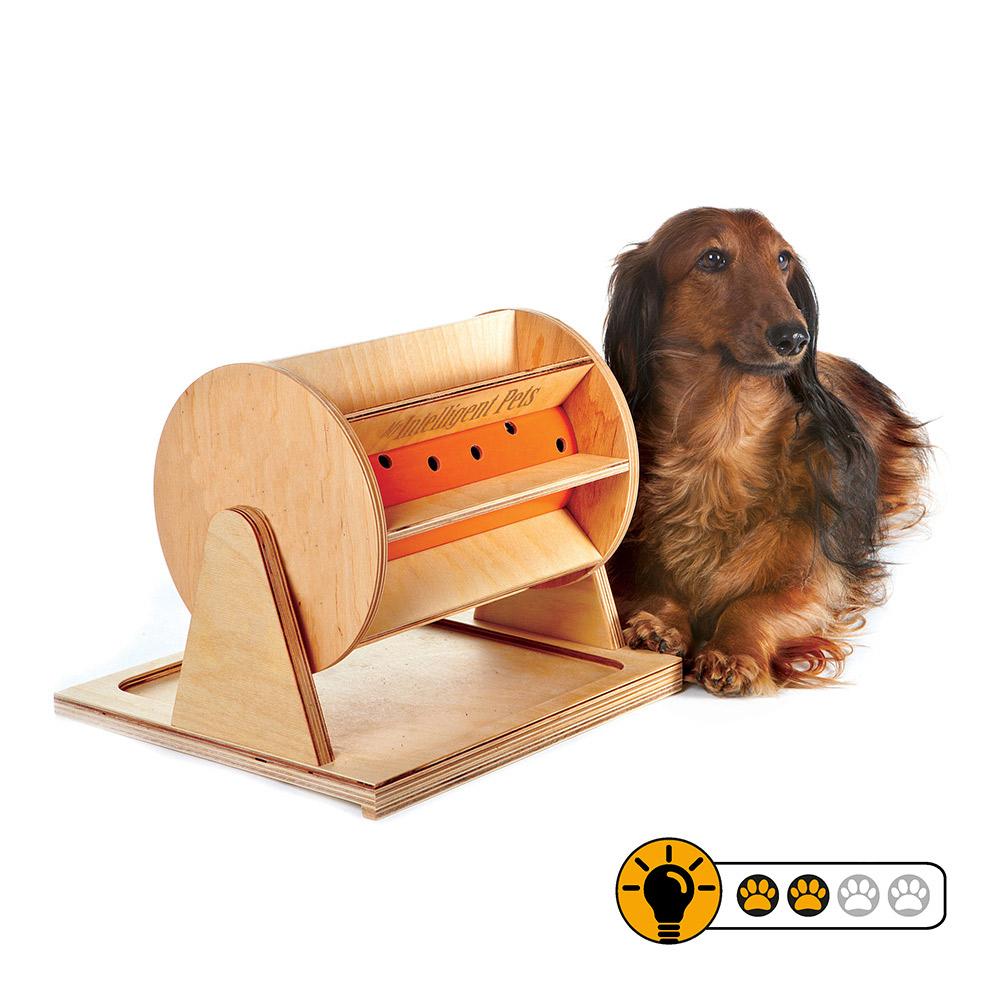 【靈靈狗】狗狗幸運輪 - 寵物桌遊/益智玩具/互動遊戲