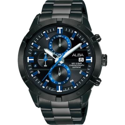 ALBA 雅柏 IG廣告款原創計時手錶(AM3751X1)-44mm