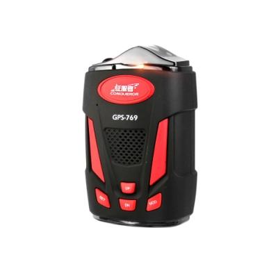 征服者 GPS-769 全頻雷達一體機 測速警示器-快