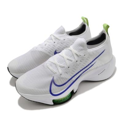 Nike 慢跑鞋 Zoom Tempo NEXT 男鞋 氣墊 舒適 避震 路跑 健身 運動 白 藍 CI9923103