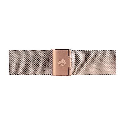PAUL HEWITT 玫瑰金不鏽鋼米蘭帶款 20mm 錶帶 (176mm男女適用款)