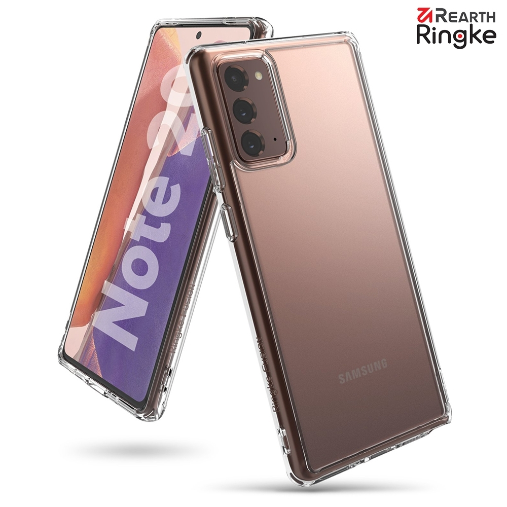 【Ringke】Rearth 三星 Samsung Galaxy Note20 / Note20 Ultra [Fusion] 透明背蓋防撞手機殼