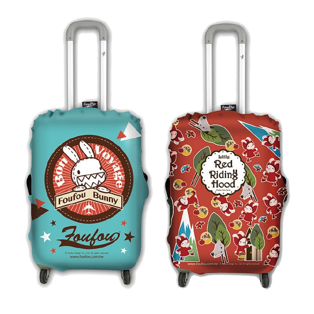 Foufou 行李箱套-M/L號 (系列2 兩款)