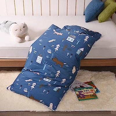 日本濱川佐櫻-童趣玩伴純棉冬夏兩用兒童睡袋