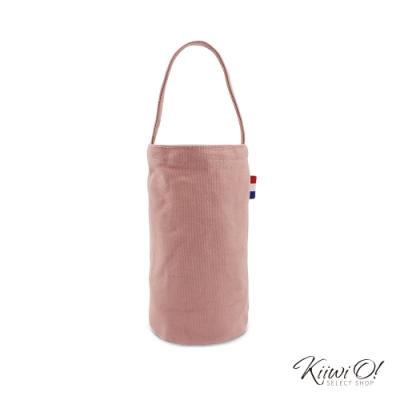 Kiiwi O! 輕便隨行系列帆布飲料袋 JOY 乾燥玫瑰粉