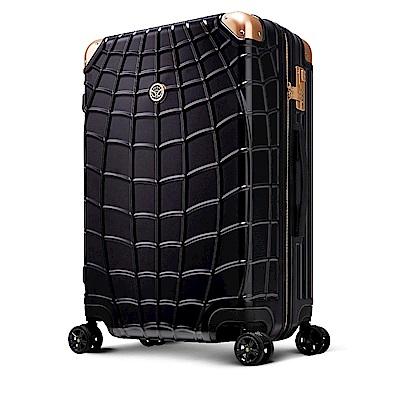 Marvel 漫威復仇者聯盟系列 20吋 新型拉鍊行李箱-黑蜘蛛人(特仕板)