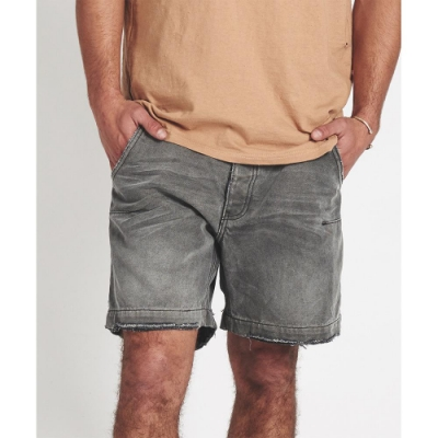 ONETEASPOON 復古牛仔短褲 破褲-男