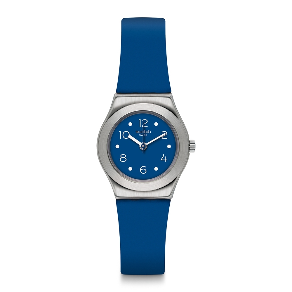 Swatch Irony 金屬Lady系列手錶 SOBLUE 就要藍色 -25mm