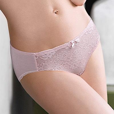 黛安芬-逆齡Bra纖體系列中腰內褲M-EL 輕柔櫻粉