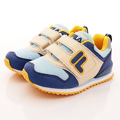 FILA頂級童鞋 輕量運動鞋款 FO28R-373藍(中小童段)0