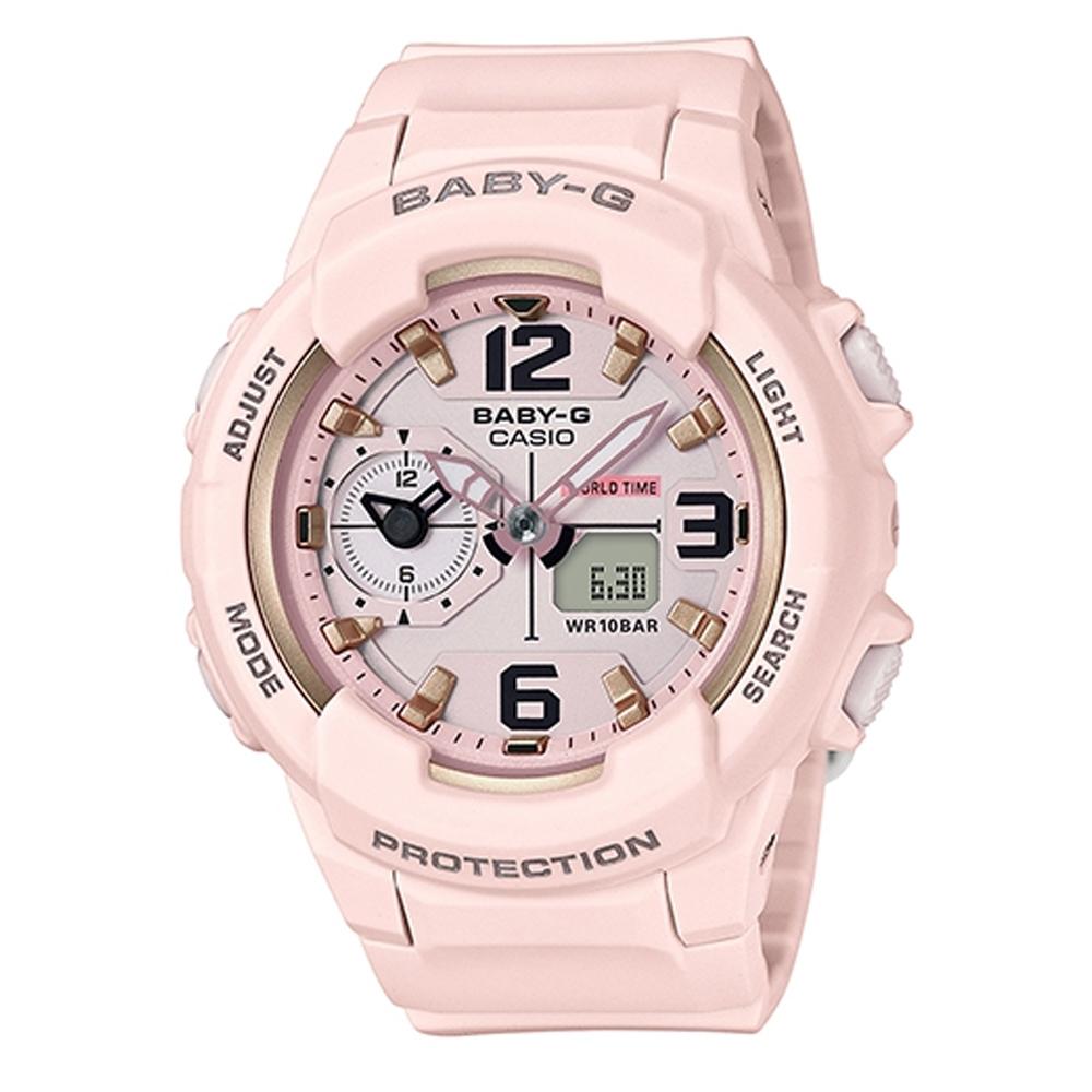 BABY-G 引領潮流系列粉嫩時尚休閒錶(BGA-230SC-4B)粉紅色42.9mm