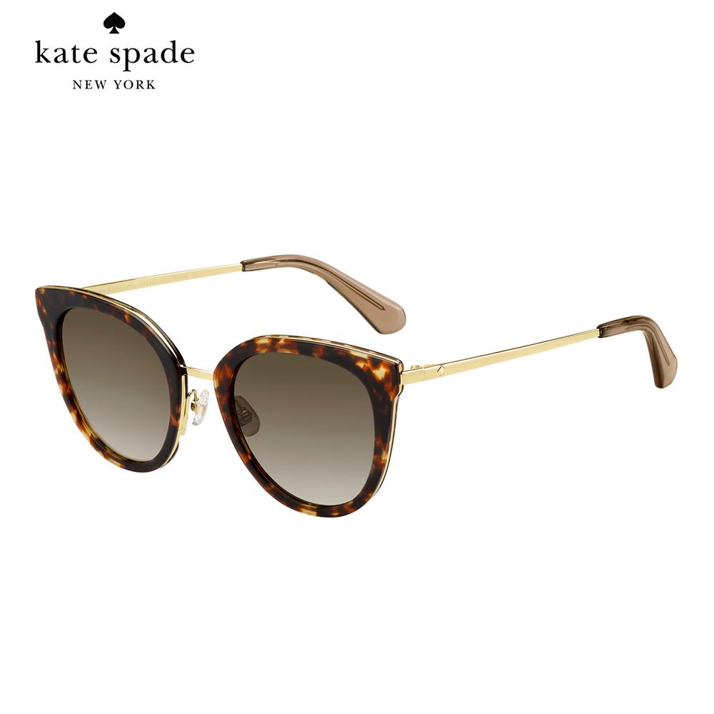 Kate Spade JAZZLYN/S-時尚貓眼太陽眼鏡 玳瑁色 @ Y!購物