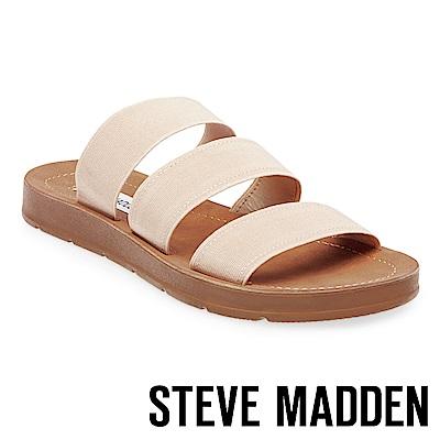 STEVE MADDEN-PASCALE 涼夏束帶平底涼鞋-粉色