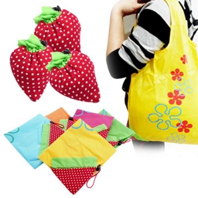kiret 超輕量 環保袋 摺疊收納袋 折疊購物袋 收納手提袋 5入(顏色隨機)