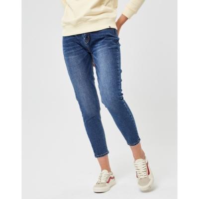 CACO-小直筒牛仔褲-情侶款(兩色)-女【VAR016】