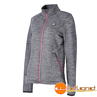 Wildland 荒野 0A52613-93深灰色 女雙色輕量保暖外套