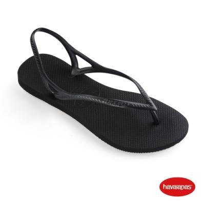 Havaianas 哈瓦仕 拖鞋 涼鞋 巴西 女鞋 黑 4145746-0090W Sunny ǁ