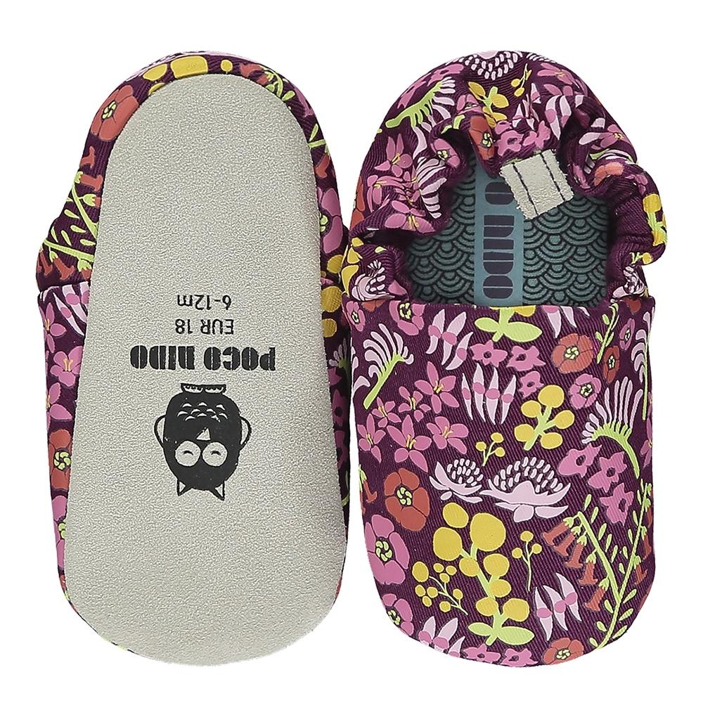 英國 POCO NIDO 手工嬰兒鞋 (澳洲花花金合歡)【2021新款】