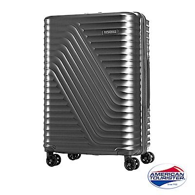 AT美國旅行者24吋High Rock流線硬殼TSA行李箱(霧灰)