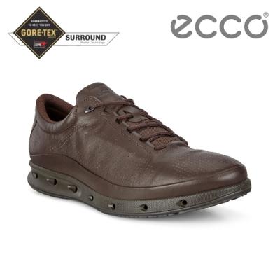 ECCO COOL M 360度環繞防水休閒運動鞋 男鞋-咖啡色
