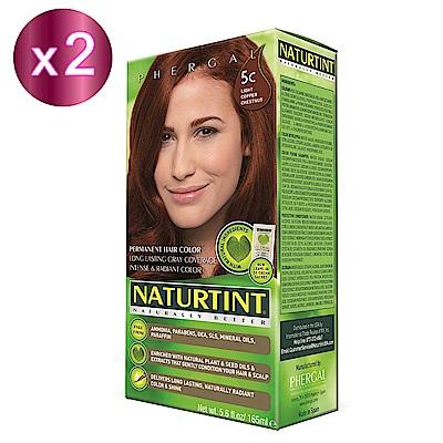 NATURTINT 赫本染髮劑 5C 銅褐色x2 (155ml/盒)