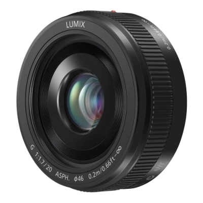 Panasonic LUMIX G 20mm F1.7 II ASPH 鏡頭  公司貨
