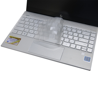 EZstick HP Envy 13-aq0003TU 奈米銀抗菌 TPU 鍵盤膜