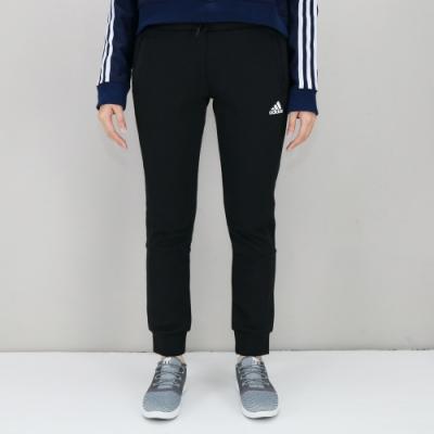 ADIDAS Knit 3S Pant 女 黑 長褲