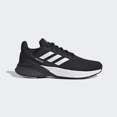 ADIDAS 透氣 舒適 運動 慢跑鞋 男鞋 黑白 FX3625 RESPONSE SR