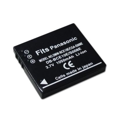 WELLY Panasonic DMW-BCE10E / CGA-S008E 相機鋰電池
