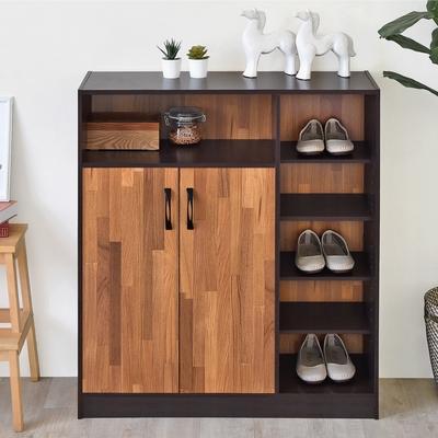 《HOPMA》DIY巧收多功能五層鞋櫃/收納櫃/置物櫃-寬85 x深30.5 x高97.5cm