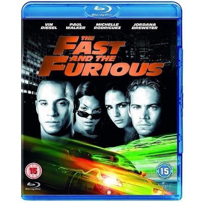 玩命關頭 The Fast and the Furious  藍光 BD