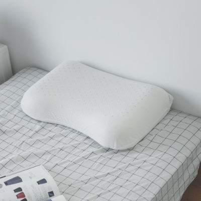完美主義 護肩蝶形乳膠枕/枕頭/阻隔蟎蟲-2入組