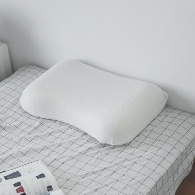 (買一送一) 完美主義 護肩蝶形乳膠枕/枕頭/阻隔蟎蟲