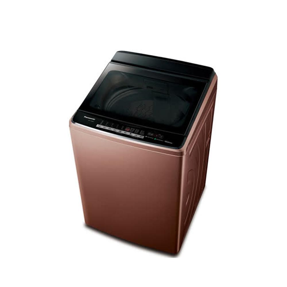 [館長推薦] Panasonic國際牌 17KG 變頻直立式洗衣機 NA-V170GB-T晶燦棕