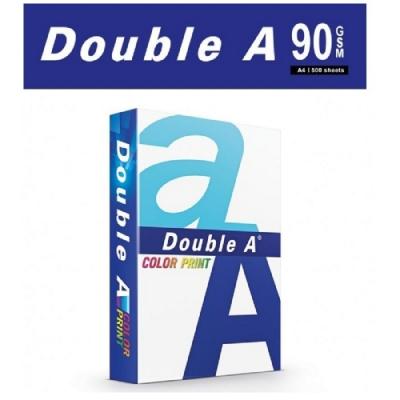 Double A 90磅 A4 彩印紙 (5包/箱)