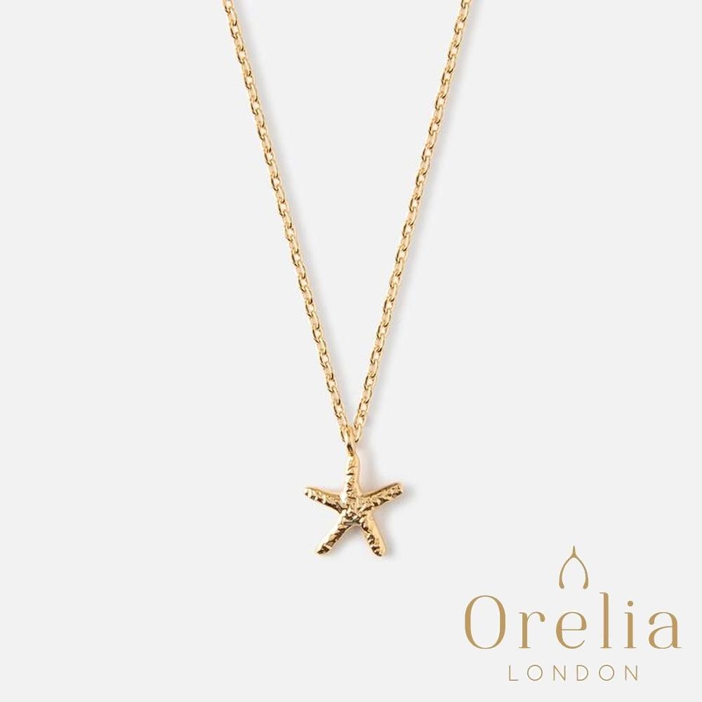 Orelia 英國倫敦 愛戀海星垂墜項鍊