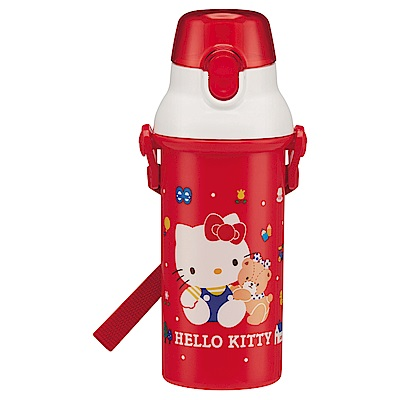 WAVA 日本SKATER Hello Kitty直飲式兒童水壺480ml