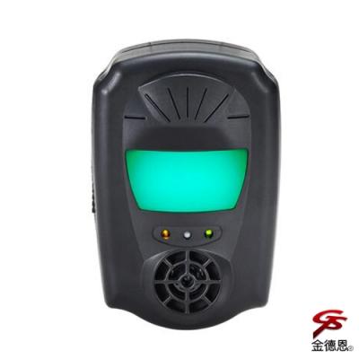 金德恩 台灣製造 雙效磁震超音波物理驅逐驅鼠器/驅蟲/特殊光波