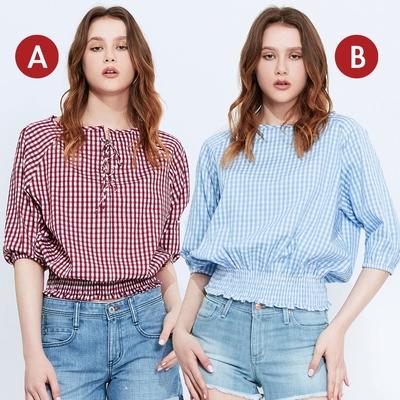 [時時樂限定]BRAPPERS 女款 五分袖襯衫(多款選)