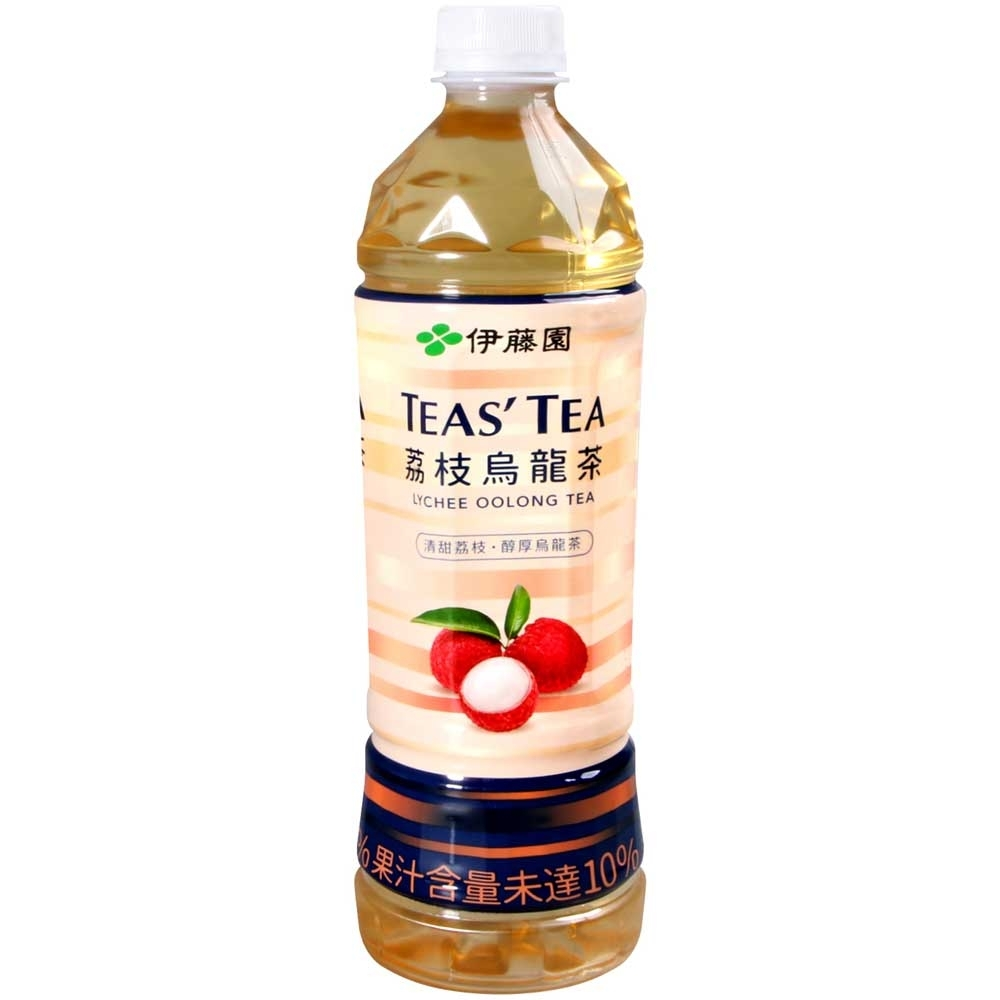 伊藤園 TEAS TEA-荔枝烏龍茶 (535ml) product image 1